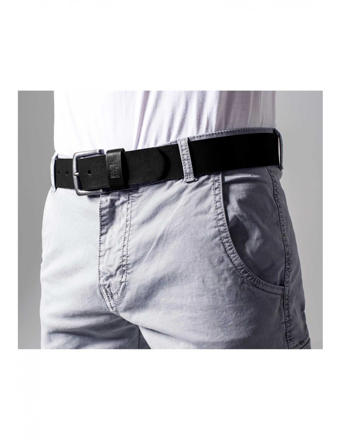 Leather Imitation Belt black