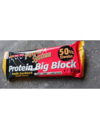 Big Block Protein Bar Vanilla 100g, 50gr. protein Rebel Protein Bar
