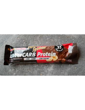 LOWer Carb Bar Coffee-Hazelnut, 45g Rebel Protein Bar