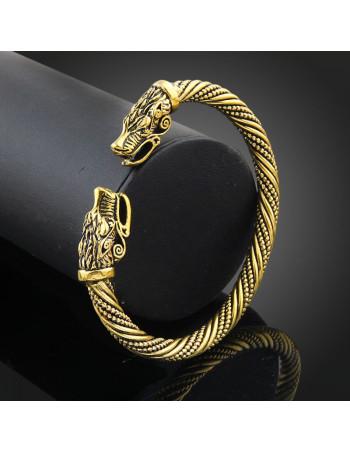 Viking bracelet gold