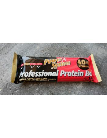 Professional Protein Bar Panna Cotta 70g Rebel Protein Bar