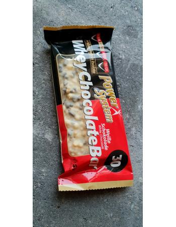 Whey Crispy Chocolate Bar with white chocolate, 50g Rebel Protein Bar