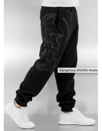 DNGRS Sweatpants Master Black