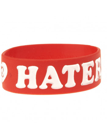 Armbånd - I Love Haters, Red