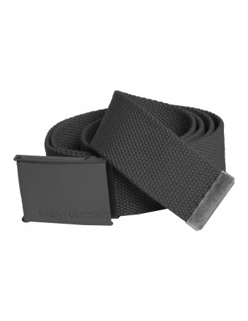 Charcoal Canvas Belt by Urban Classics