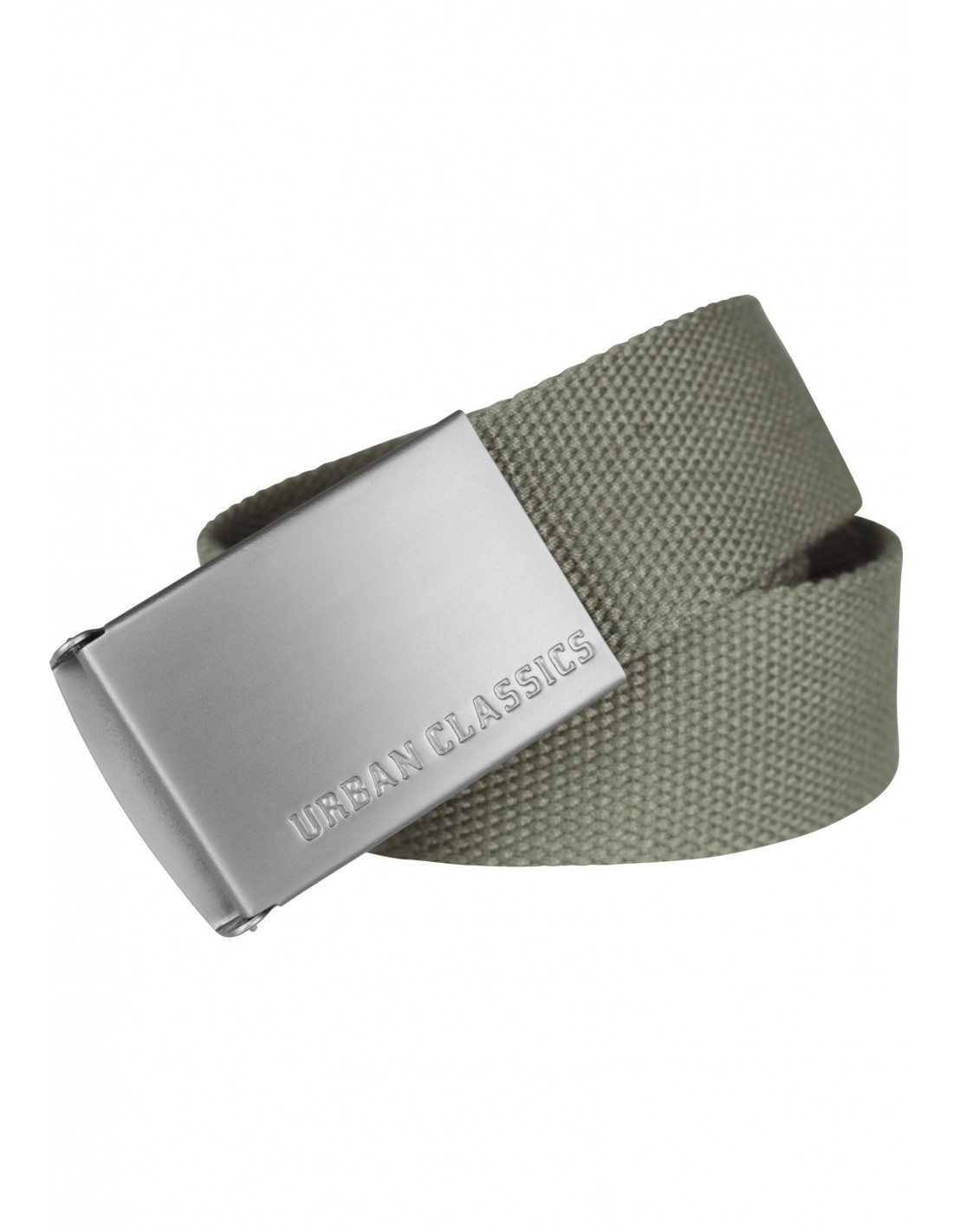 Olive Canvas Belt by Urban Classics