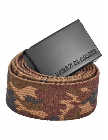 Wood Camo Canvas Belt by Urban Classics