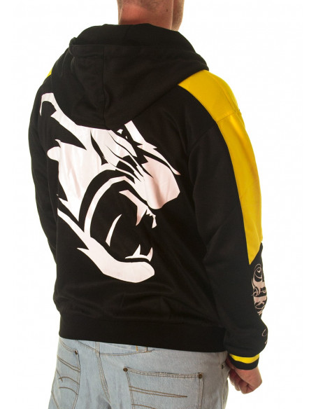 BSAT Signature Panther Hoodie BlackNYellow