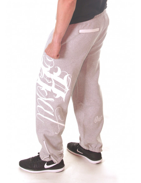 BSAT Art Script Sweatpants Grey