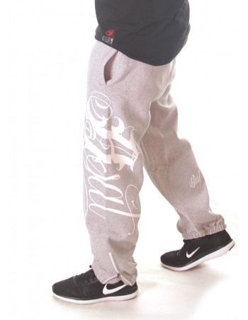 BSAT Art Script Sweatpants Grey