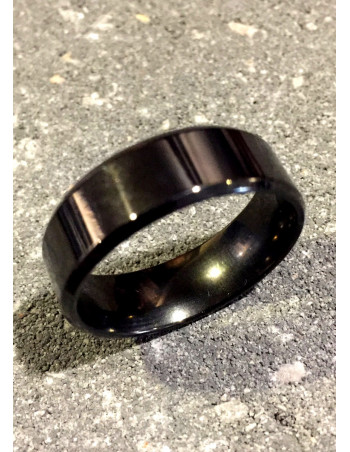 Vikings Jewelry, Metallic Black Ring