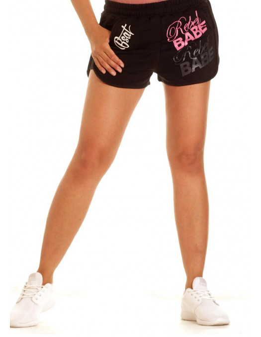 BSAT RebelBabe Shorts Black