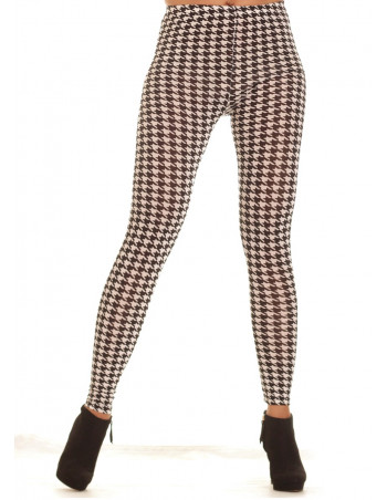 BlackNWhite patterned Leggings