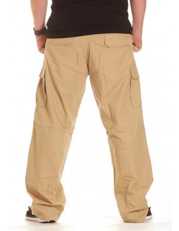 BSAT Combat Cargo Pants Khaki Baggy fit
