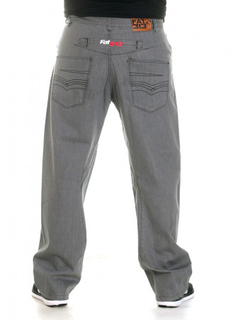 FAT313 Renew Legend Jeans Grey Denim