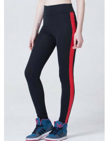 Sporty Leggings BlackNRed