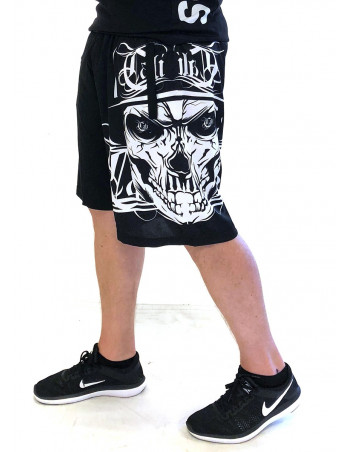 BSAT Cali Skull Shorts Sports Black