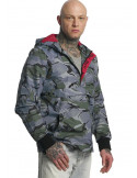 Thug Life Lightweight Jacket Threat Dark