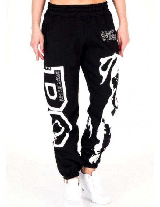 BabyStaff Lady Puppy Sweatpants Black