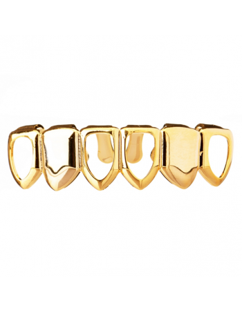Grillz Open Face Gold