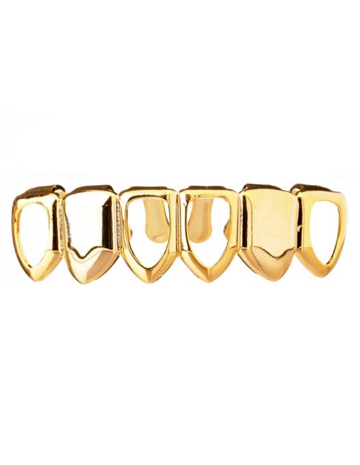 Grillz Open Face Gold