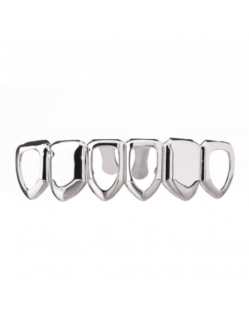 Grillz Open Face Silver