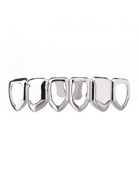 Grillz Open Face Silver