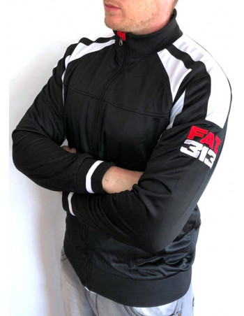 FAT313 Master TrackJacket BlackNWhite