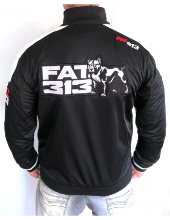 FAT313 Master TrackJacket Legend BlackNWhite