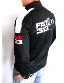 FAT313 Master TrackJacket Legend BlackNWhite