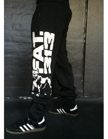 FAT.313 Legend Standout Sweatpants BlackNWhite