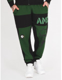 Amstaff Dados Sweatpants GreenNBlack