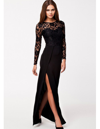 Black Lace Dress by Melusin