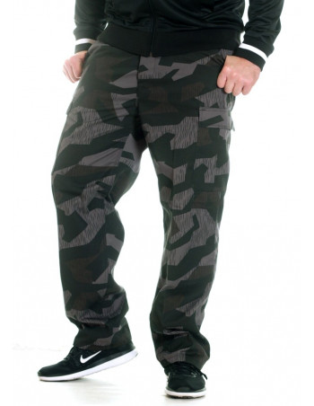 TechWear Camo Cargo Pants Night