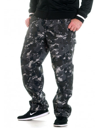 TechWear Camo Cargo Pants Digital