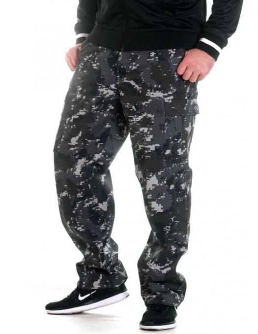 TechWear Camo Cargo Pants Digital