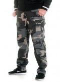 TechWear Dark Camo Cargo Pants