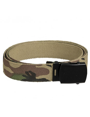 Urban Army Camo Cotton Belt Woodland