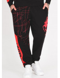 Amstaff Capkin Sweatpants BlackNRed
