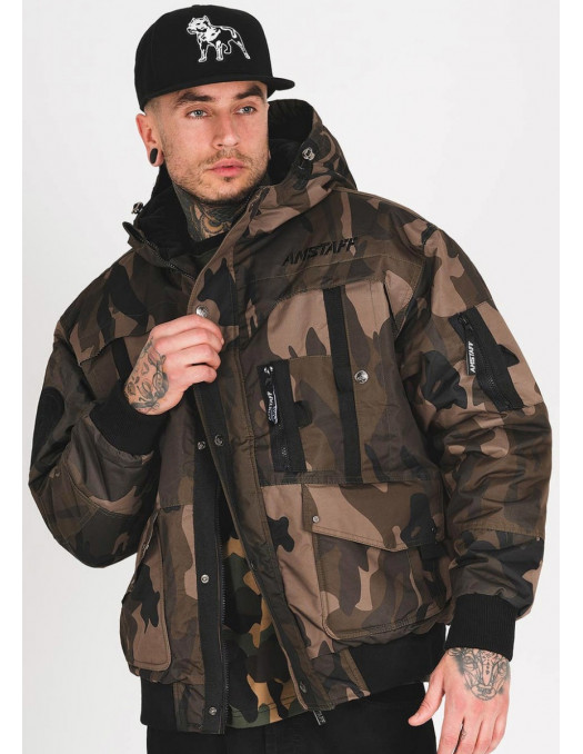 Amstaff Connery X Vinter Jacket Camo
