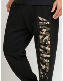 Amstaff Camo Logo Sweatpants Black