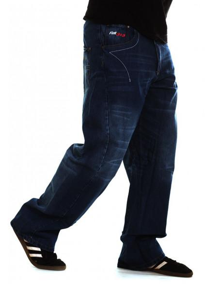 FAT313 Renew Legend Jeans Dark Indigo