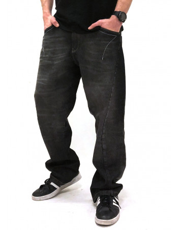 FAT313 Renew Legend Jeans Raw Black Washed