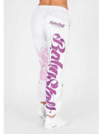 Babystaff Merah Sweatpants White