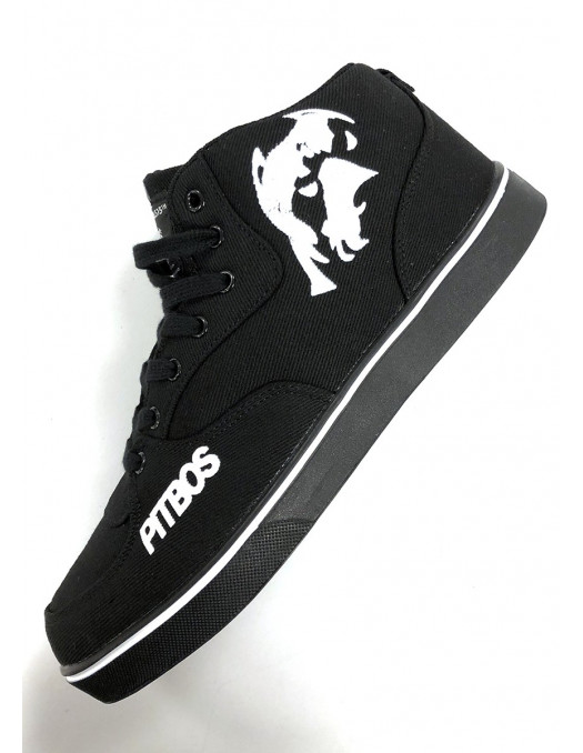 BrandDogLogo Shoes by Pitbos BLackNWhite Vol.2