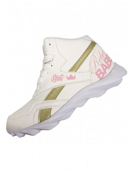 RebelBabe Shoes WhiteNPink by BSAT