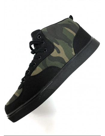 Canvas Shoes BlackNCamo by Pitbos