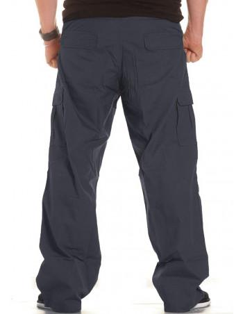 BSAT Combat Cargo Pants NavyBlue Baggy fit