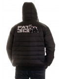 FAT313 Dog Bubble Winter Jacket Black