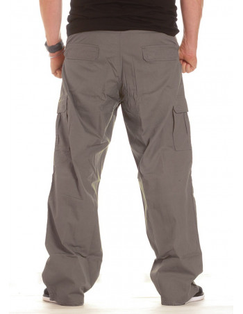 BSAT Combat Cargo Pants Grey Baggy fit